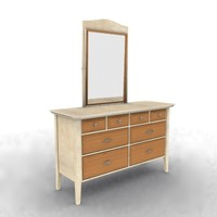 3ds max ladies desk dressing table