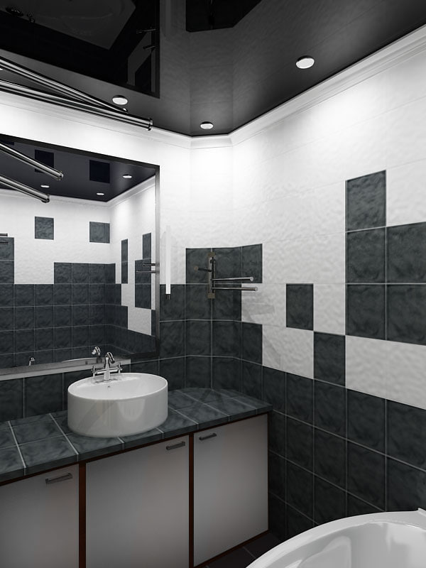 max bath room white