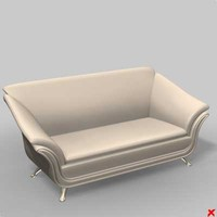 Sofa loveseat062_max.ZIP