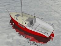 sailing vagabond 23 3d max