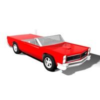 3ds max 1965 pontiac gto