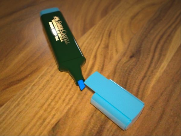 3d model pen marker