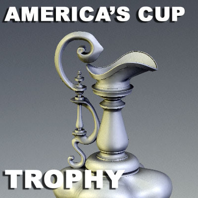 america s cup trophy max