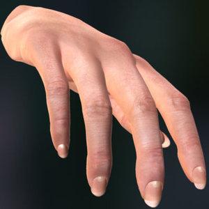 female hand max