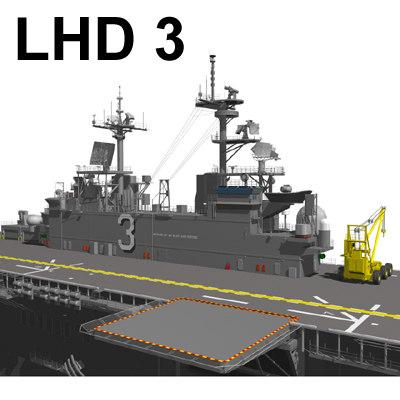 lhd 3 3d model