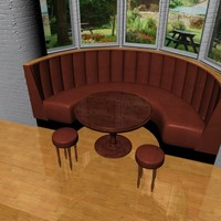 3d model pub bar fixed