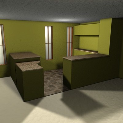 cinema4d condo apartment home