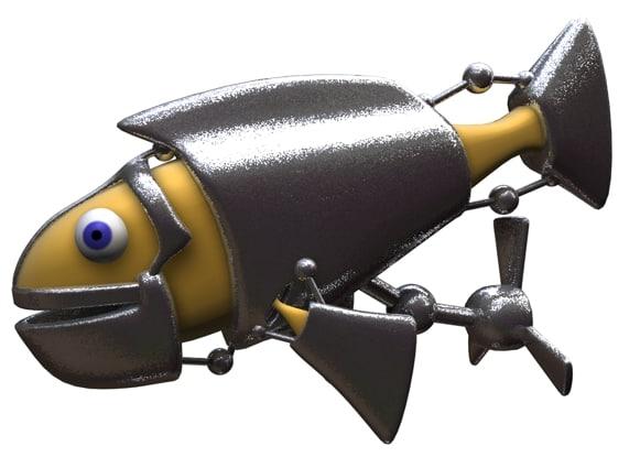 cinema4d fish toon