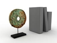 Ancient bronze disc