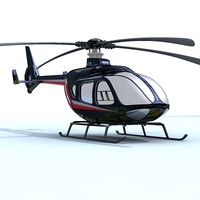 3d 3ds ec135 eurocopter