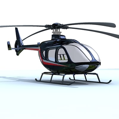 3d 3ds ec135 eurocopter