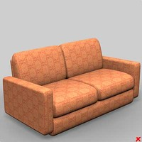 Sofa loveseat065_max.ZIP