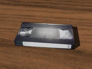 3d model video tape