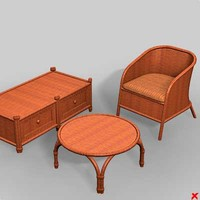 Wicker furniture001_max.ZIP