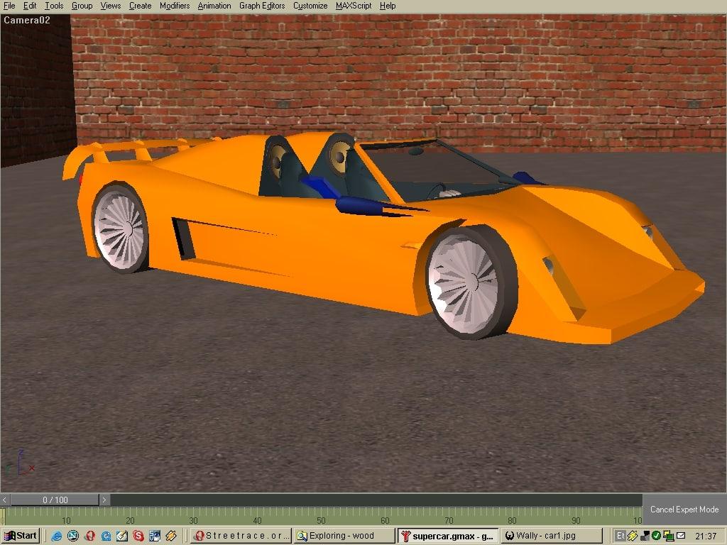 car supercar 3d model