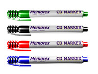 CD Markers, Red, Black, Blue, and Green.t3d