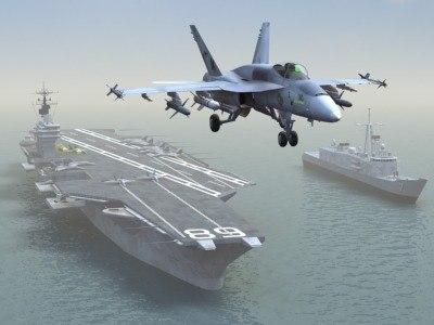 3ds max fa18e navy