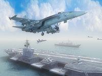 USS_Nimitz-&-FA18E_3DS.zip