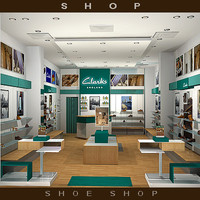 racks shop clarks 3d model