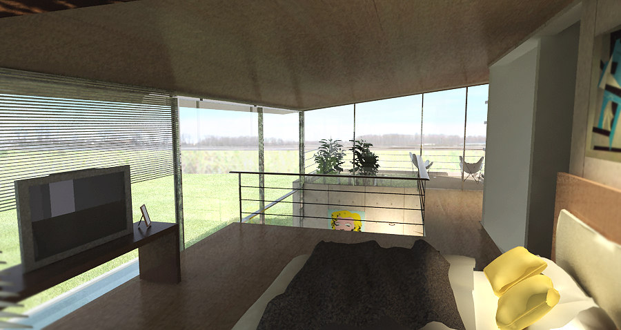 loft proyect dinning room 3d model