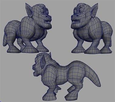 maya alien dog