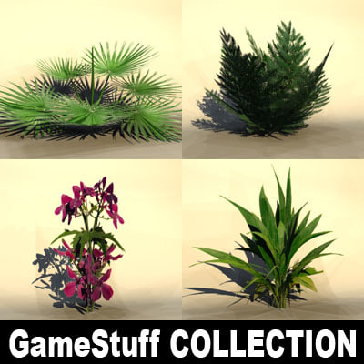 3ds max bushes pc