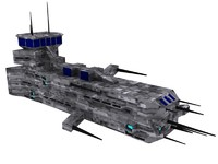 3d spaceship fighter