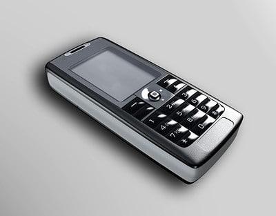 cellphone sony ericsson phone 3ds