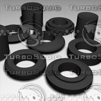 maya antivibration rubber rings