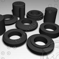 maya antivibration rubber rings