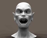 vampire nosferatu 3d obj