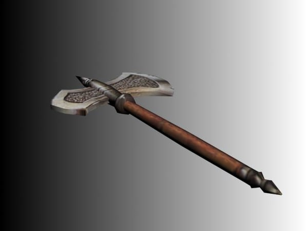 weapons mmorpg rts 3d model