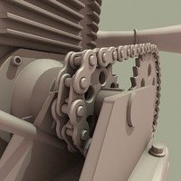 3d kart motor