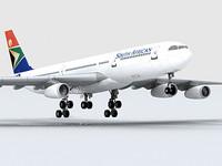 エアバスA340-300南アフリカ共和国航空[プレミアムエディション]