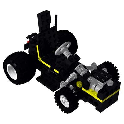 3d model building toy car