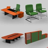 Office furniture set017_max.ZIP