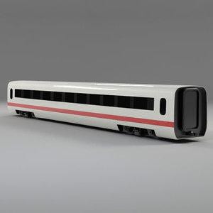 ice train locomotive 3d model