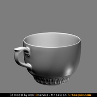 Cup 3d model collection