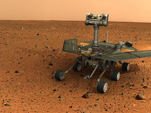 3d resolution mars rover model