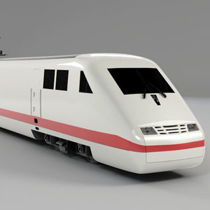 3d model ii ice locomotive