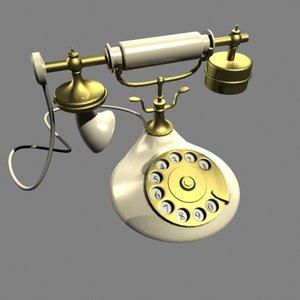 telephone 1929 3d model