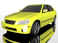 lexus is300 3d model
