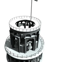 pisa tower 3d model