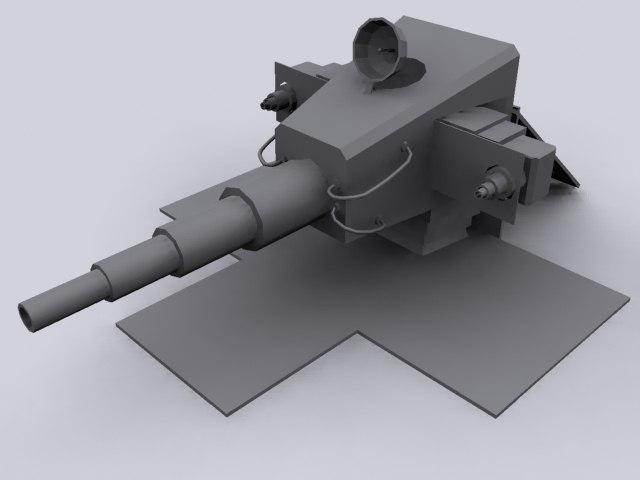 3d box trap turret