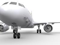 3ds max airbus 320 5 plane