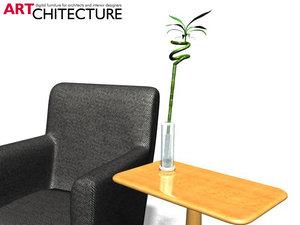 bambu flower 3d model