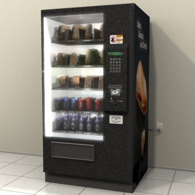 lightwave vending machine