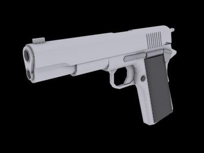 3d colt 45 pistol