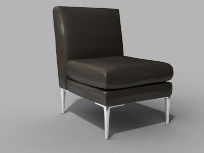 3d dwr libre chair model