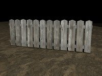 3D picket fence #2